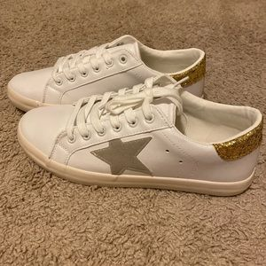 White star sneakers